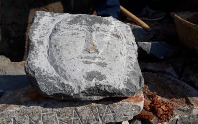 Η δημιουργικότητα των εκπαιδευόμενων κατά τη διάρκεια του 3ου Εργαστηρίου της τέχνης της πέτρας