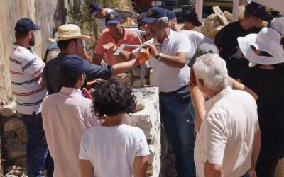 1ο Εργαστήριο της τέχνης της πέτρας, Λαγκάδια, 1-5 Αυγούστου 2017!