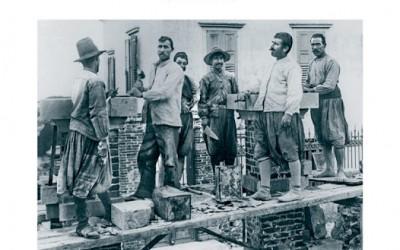 Οι παραδοσιακοί μάστορες των πετρόχτιστων κτιρίων της Λέσβου